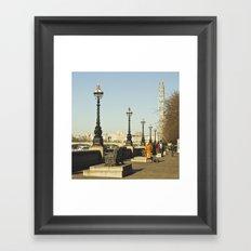 London Thames Framed Art Print