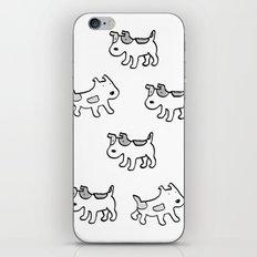 woofwoof dog meeting iPhone & iPod Skin