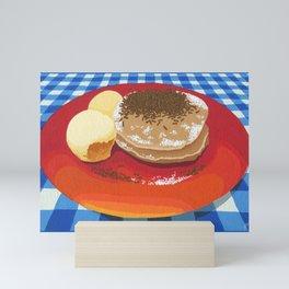 Pancakes Week 15 Mini Art Print