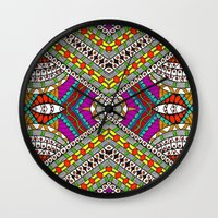 gypsy Wall Clocks featuring Gypsy by Kimberly McGuiness