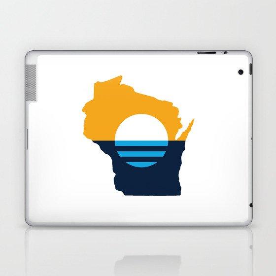 Wisconsin - People's Flag of Milwaukee Laptop & iPad Skin