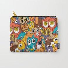 Weird Guys Pattern Carry-All Pouch