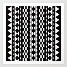 Geometric Pattern #177 (edie sedgwick) Art Print