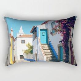 Obidos, Portugal (RR 175) Analog 6x6 odak Ektar 100 Rectangular Pillow