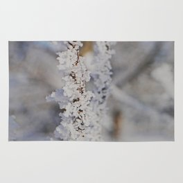 Snow crystal Rug