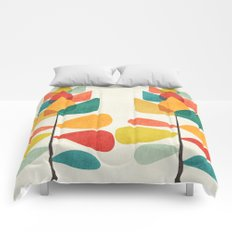 Spring Time Memory Comforters