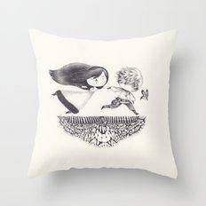 Oblige Throw Pillow