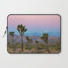 Sunrise Joshua Tree Desert Vibes (Blue and pink) Laptop Sleeve