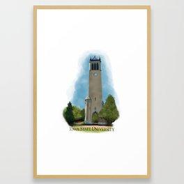 Iowa State Campanile Framed Art Print