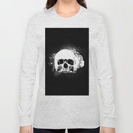 Skull Face Long Sleeve T-shirt