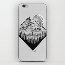 Mountain moonshine iPhone Skin