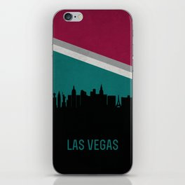 Las Vegas Skyline iPhone Skin