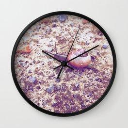 Escargot Wall Clock