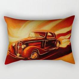 Classic Car - Retro Cars Rectangular Pillow