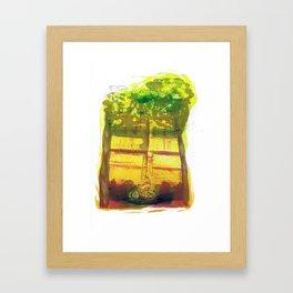 Boulevard Framed Art Print