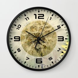Dandelion | Make a wish Wall Clock