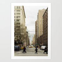 broadway Art Prints featuring Broadway by Alexandre1983 Photography