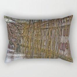 River Blau - Ulm ( Fischerviertel ) Rectangular Pillow