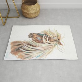 ICELANDIC HORSE // STAY WILD Rug