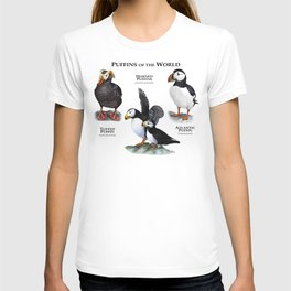 Puffins of the World T-shirt