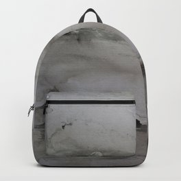 Moonlight landscape Backpack