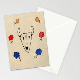 Skull Friend Stationery Cards