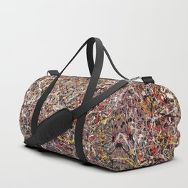 Intergalactic - abstract painting by Rasko Duffle Bag