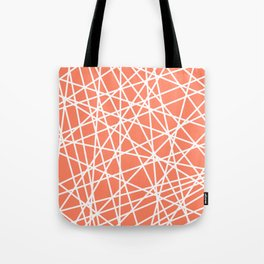Lazer Dance Coral Tote Bag