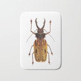 Macrodontia Cervicornis Sabertooth Beetle Bath Mat