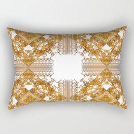 Fractal Art - Tiki Gold 2 Rectangular Pillow