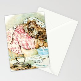 Mrs. Tiggywinkle by Beatrix Potter Stationery Cards