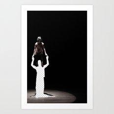 Vacant Partner Art Print