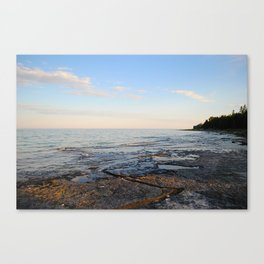 LIVE ON THE LAKE. Canvas Print