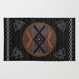 Viking shield Rug