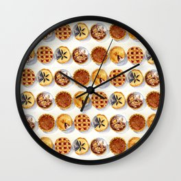 Pies Wall Clock