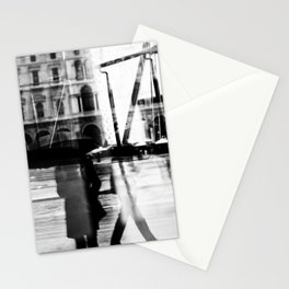 Reflection in Milan Stationery Cards