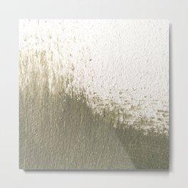 Green stroke  Metal Print