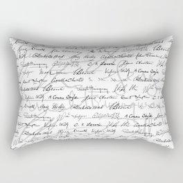 Literary Giants Pattern II Rectangular Pillow
