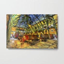 Covent Garden Van Gogh Metal Print