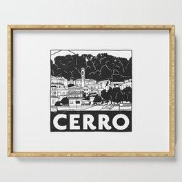 Cerro, Lago Maggiore, Itay Serving Tray
