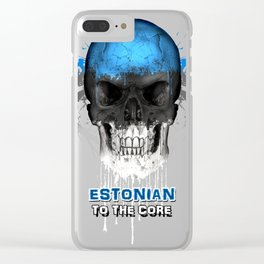To The Core Collection: Estonia Clear iPhone Case