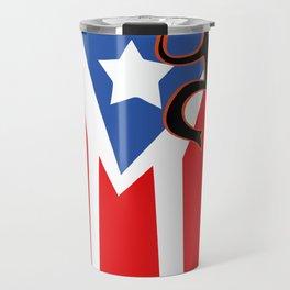 Mi bandera, Puerto Rico Travel Mug
