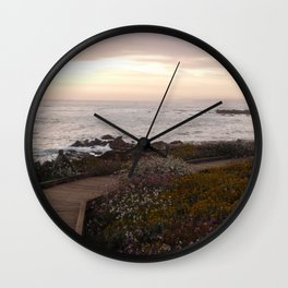 On the right path - Wildflowers bloom for those in love Wall Clock