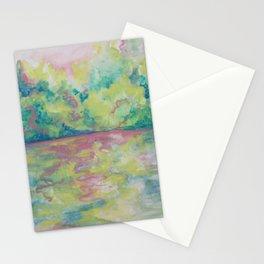 River in Dream Color Stationery Cards