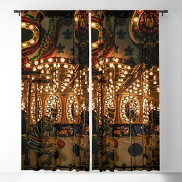Carousel Ride Blackout Curtain