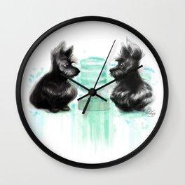 Watercooler I Wall Clock