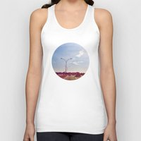 road Tank Tops featuring Road by Gasoline Rainbow