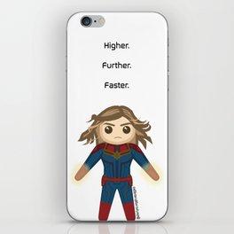 Carol Danvers Design iPhone Skin