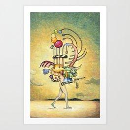 The Walk Print Art Print