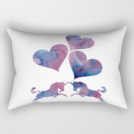 Unicorn art Rectangular Pillow